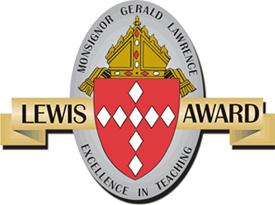The Lewis Award for Excellence In Teaching